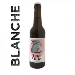 Bière Tête de Mule Blanche - La Popotte Bressuire