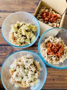 Pasta box - La Popotte Restaurant Bressuire - Sur place, en livraison et à emporter - Manger bon, sain et local