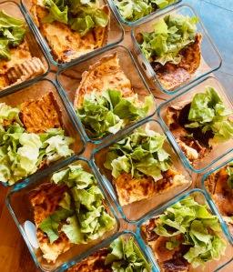 Tarte salée végétarienne - La Popotte Restaurant Bressuire - Sur place, en livraison et à emporter - Manger bon, sain et local