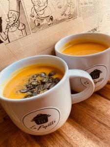 Soupe butternut - la Popotte Bressuire