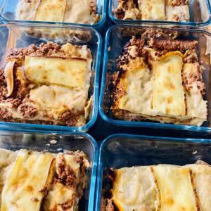 Lasagnes bolognaises - La Popotte Restaurant Bressuire - Sur place, en livraison et à emporter - Manger bon, sain et local