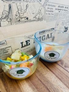Salade de fruits - La Popotte Restaurant Bressuire - Sur place, en livraison et à emporter - Manger bon, sain et local