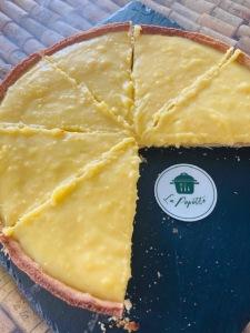 Tarte au citron - La Popotte Restaurant Bressuire - Sur place, en livraison et à emporter - Manger bon, sain et local