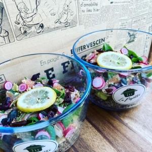 Salade - La Popotte Restaurant Bressuire - Sur place, en livraison et à emporter - Manger bon, sain et local